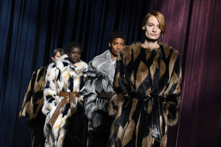 The high fashion world has also seen a recent shift away from using fur, with some of the biggest brands choosing to go fur-free.