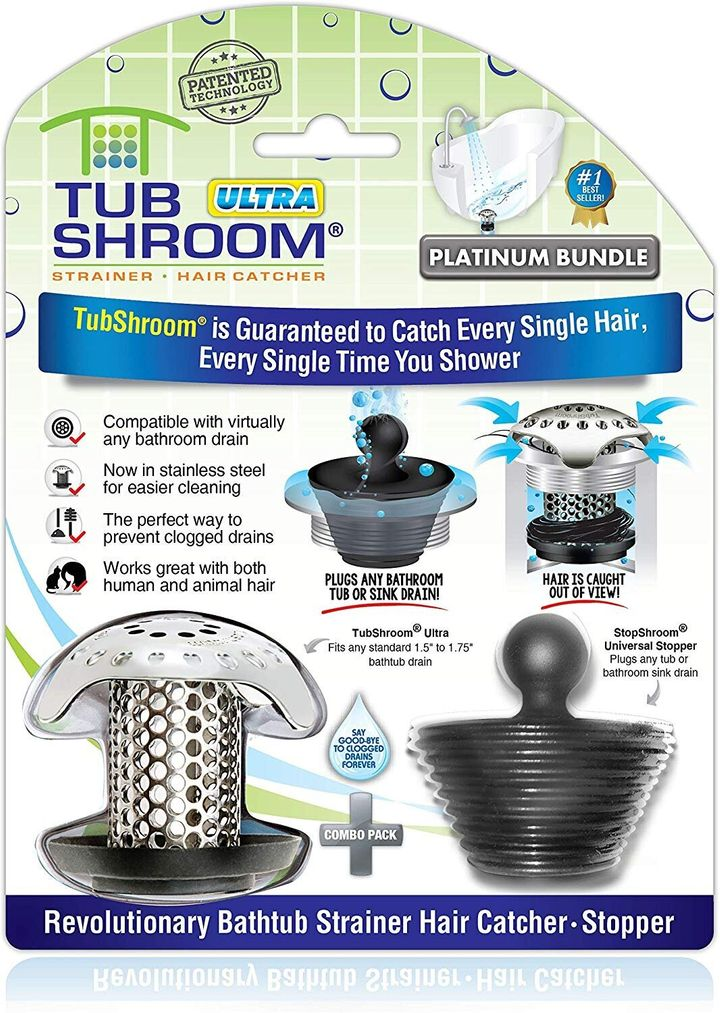 Avoid plumbing problems with the TubShroom.