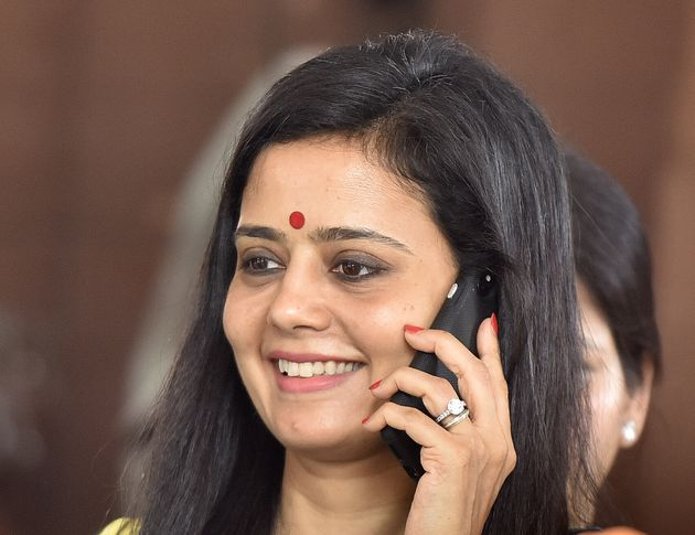NEW DELHI, INDIA - JULY 8: TMC MP Mahua Moitra leaves after attending the Budget Session on July 8, 2019...