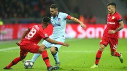 El Bayer Leverkusen fue un dolor de cabeza para el Atlético