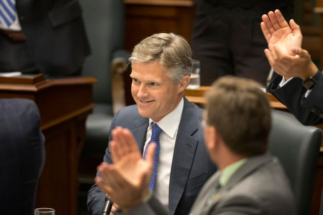 Finance Minister Rod Phillips during question period at Queen's Park July 18, 2019. Before this appointment,...