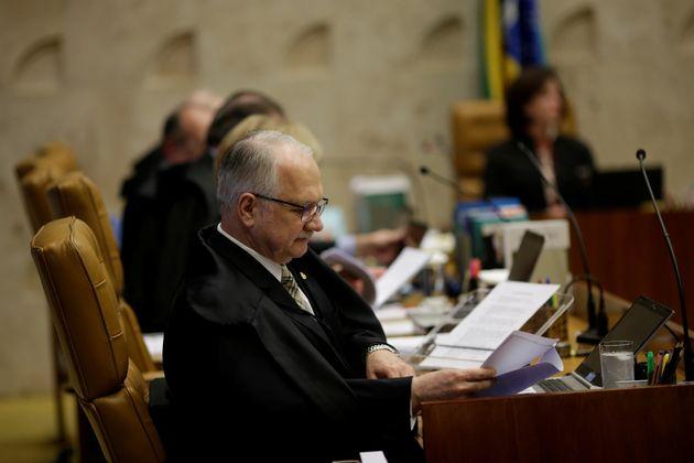 Ministro Edson Fachin é relator da Lava Jato no