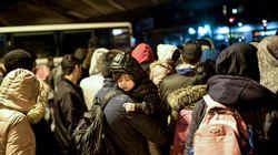 Des campements de migrants dans le nord-est de Paris