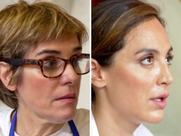 Anabel Alonso y Tamara Falcó, en 'MasterChef