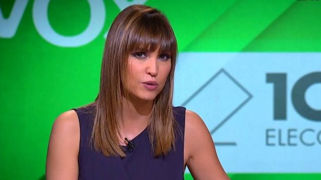 La presentadora de El Intermedio, Sandra