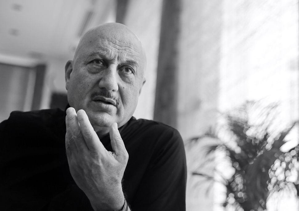 NEW DELHI, INDIA - NOVEMBER 1: (Editors Note : This is an Exclusive image of Hindustan Times) Bollywood actor Anupam Kher during a profile shoot, on November 1, 2019 in New Delhi, India. (Photo by Raajessh Kashyap/Hindustan Times via Getty Images)