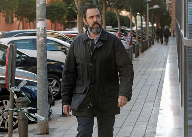 Miguel López llega a los juzgados de Benalúa para asistir a la exposición de las conclusiones de las...