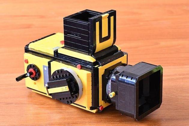 Μία πλήρως λειτουργική φωτογραφική μηχανή Hasselblad από