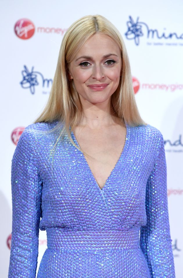 Fearne has become a mental health ambassador in recent