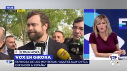 Las inesperadas cuatro palabras de Espinosa de los Monteros a Susanna Griso que evidencian su