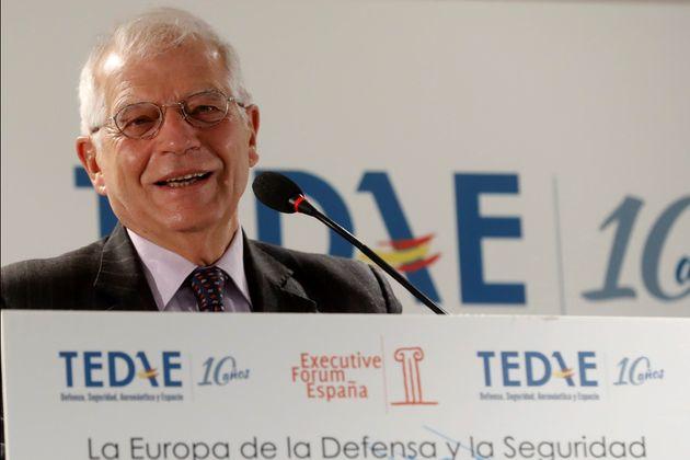 El ministro de Asuntos Exteriores en funciones, Josep