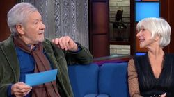 Ian McKellen, Helen Mirren Act Out Trump's Ukraine Call And It's