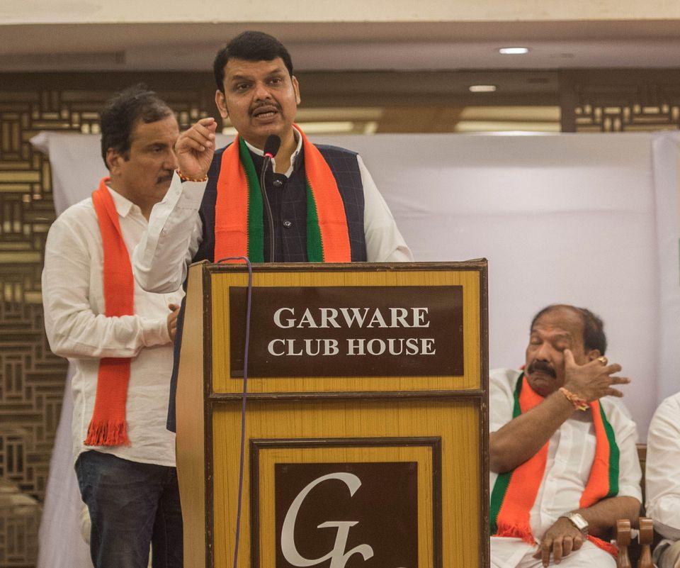 Incumbent Maharashtra CM Devendra