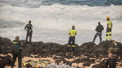 Al menos nueve fallecidos al volcar una patera cerca de la costa de