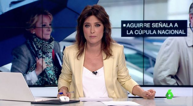 Helena Resano, presentadora de 'laSexta