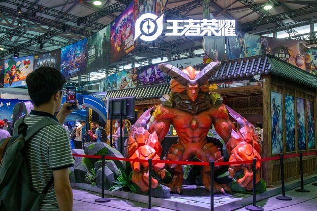 """Le jeu mobile populaire """"Honor of Kings"""" de Tencentsorti en 2016 avaient été..."""