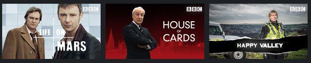 BBC dramas on