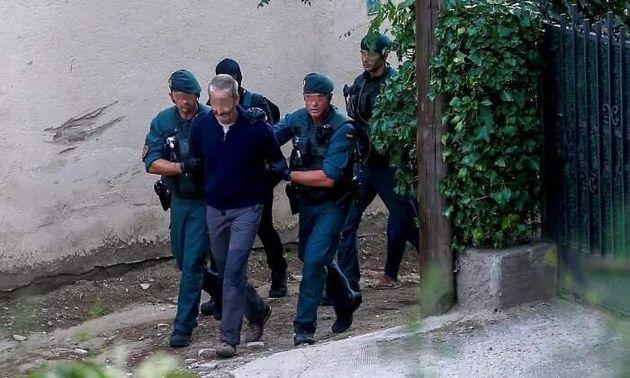 Operación que acabó con la detención de los nueve miembros de los