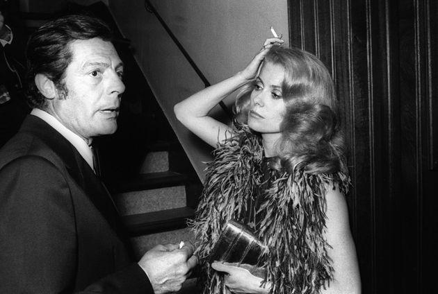 Catherine Deneuve e Marcello Mastroianni: la loro storia d'amore segnò un'epoca (ma lui non lasciò mai...