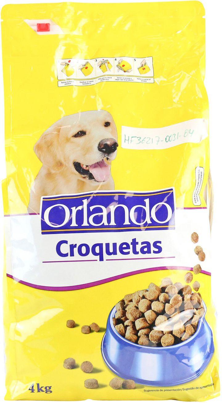 Pienso Orlando: croquetas para perro.