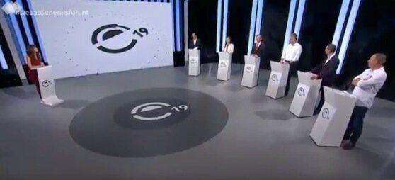Pedro Duque, en el debate de À