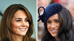 Meghan Markle, Kate Middleton Step Out In Very Blue Looks For Separate