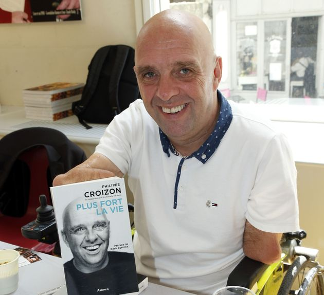 Philippe Croizon en mai 2017 à