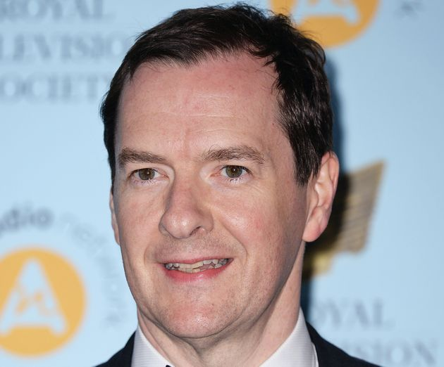 George Osborne arriving at the Royal Television Society Programme Awards 2018 held at Grosvenor House...
