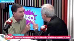Augusto Nunes agride Glenn Greenwald durante programa