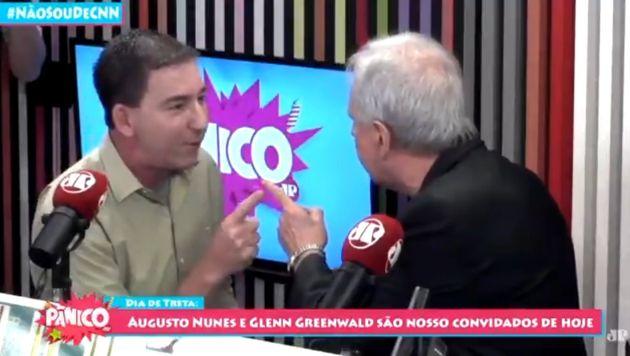 Glenn Greenwald e Augusto