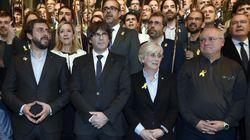 En libertad los exconsellers Puig y Comín tras prestar declaración ante el juez