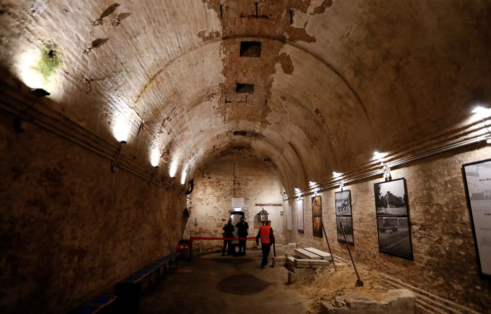 The museum of the original escape tunnel from West Berlin to East Berlin at Brunnenstrasse, discovered...