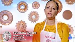 Yolanda Ramos da que hablar con este comentario sobre una invitada a 'MasterChef' en