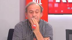 Platini perd tous ses moyens après un message de soutien de