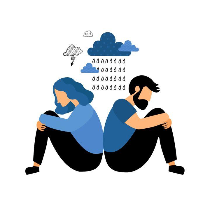 A depressão pode minar um relacionamento; por isso, o acolhimento ao outro e o autocuidado devem caminhar juntos.