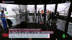 El gesto de Ana Pastor antes del debate de laSexta tiene una
