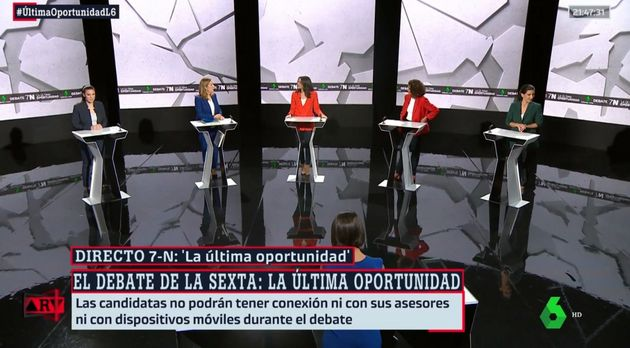 El debate a cinco en