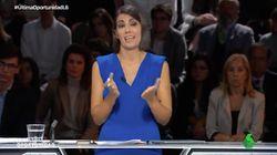El rifirrafe entre Ana Pastor y Ana Pastor en pleno debate de