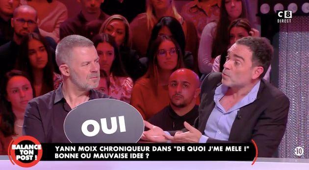 Yann Moix sera chroniqueur de l'émission d'Éric Naulleau sur C8
