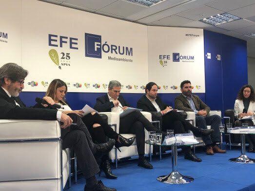 Arturo Larena (EFE), Pilar Liébana (Cs), José Juan Sanz (PP), Salvador Sierra (PSOE), Víctor...