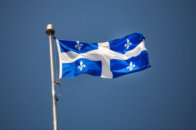 Canada, Quebec, province flag of