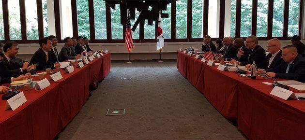 제11차 한미 방위비분담특별협정(SMA) 체결을 위한 2차 회의가 지난달 23~24일(현지시간) 양일간 미국 호놀룰루에서