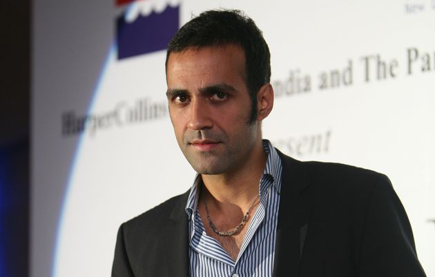 Writer Aatish Taseer at the launch of his book