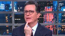Colbert Hat Eine Schmerzhaft Ehrliche Antwort Zu Trump das Große Rallye-Frage