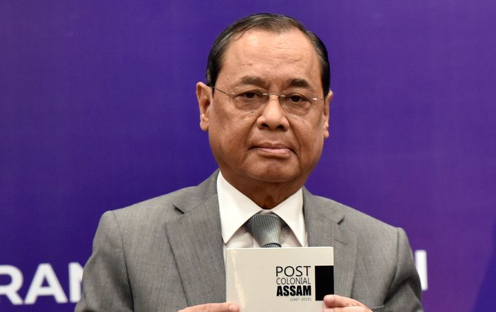 Chief Justice of India Ranjan Gogoi in a file photo.