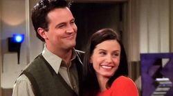 Courteney Cox sube una foto con Matthew Perry: así están Monica y Chandler 15 años después de