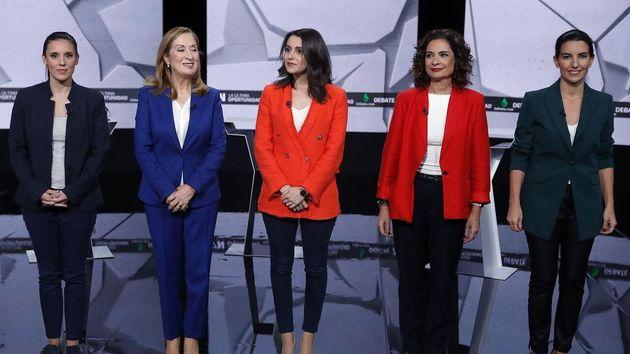 Candidatas debate electoral