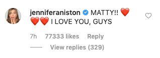Courteney Cox Shares Sweet 'Friends' Reunion Selfie With Matthew