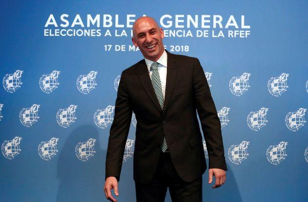 Luis Rubiales, en una imagen de archivo de