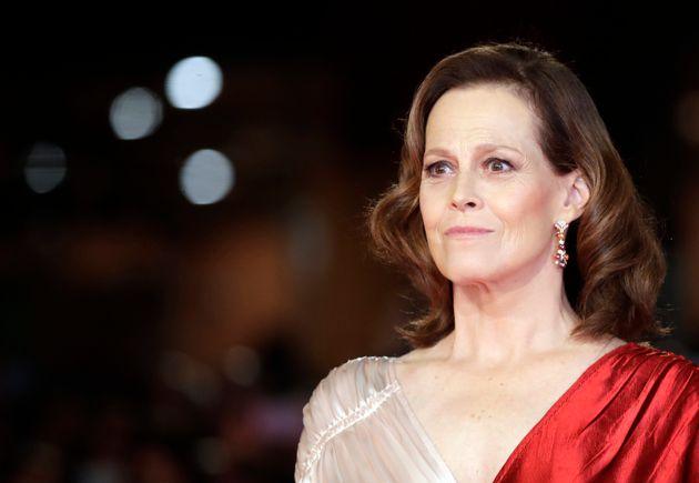 Sigourney Weaver prend la pose durant la 13ème édition du Rome Film Fest, le 24 octobre